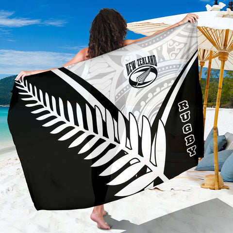 New Zealand Rugby Sarong - New Zealand Fern & Maori Patterns