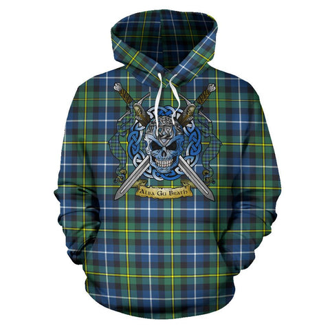 MacNeill of Barra Ancient Tartan Hoodie Celtic Scottish Warrior A79 | Over 500 Tartans | Clothing | Apaprel