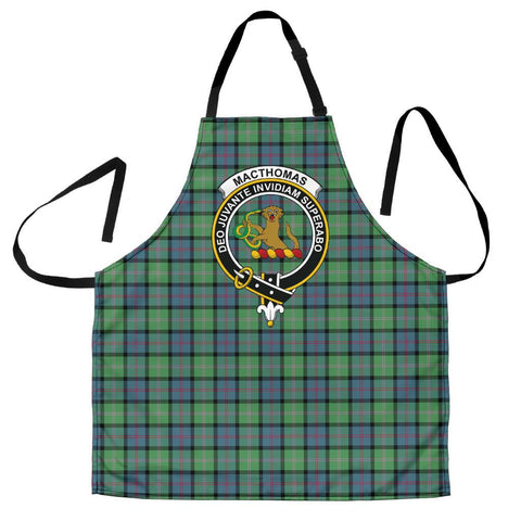 Image of MacThomas Ancient Tartan Clan Crest Apron