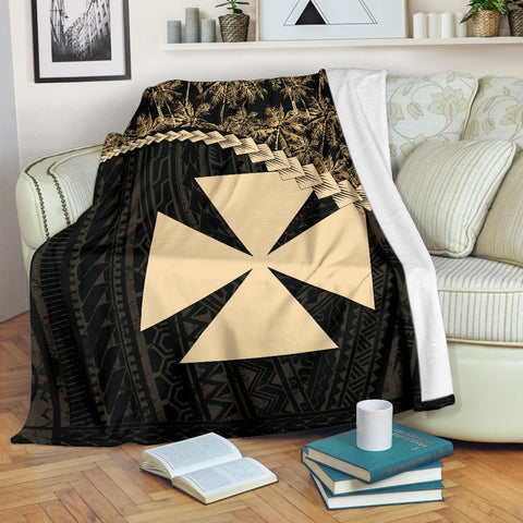 Wallis and Futuna Premium Blanket Coconut Golden | Love The World