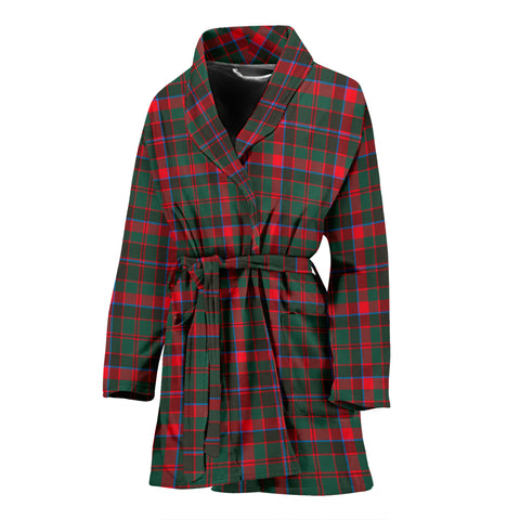 Cumming Hunting Modern Tartan Women's Bath Robe