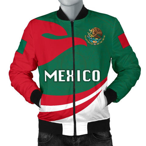 Mexico Men Bomber Jacket Proud Version | 1sttheworld
