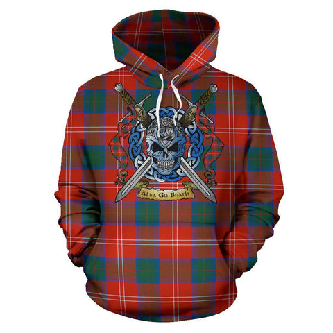 Chisholm Ancient Tartan Hoodie Celtic Scottish Warrior A79 | Over 500 Tartans | Clothing | Apaprel