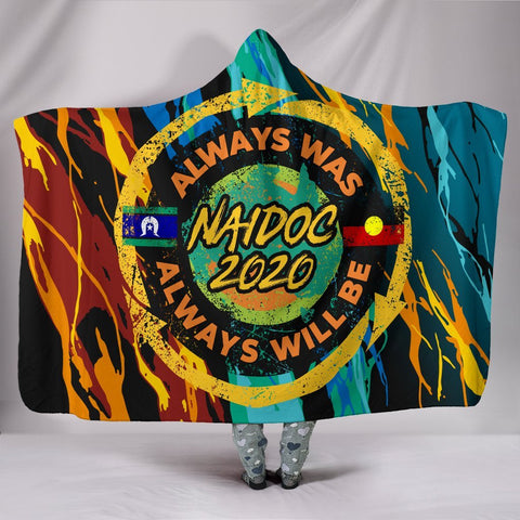 Image of Australia Hooded Blanket - Naidoc Always Was, Always Will Be - BN17