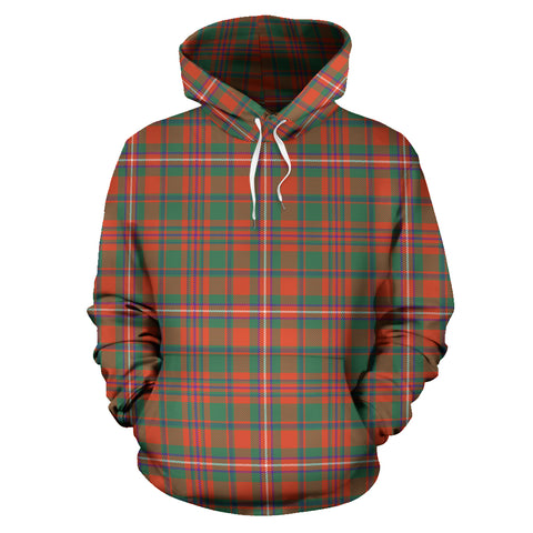 Image of Mackinnon Ancient Tartan Hoodie HJ4