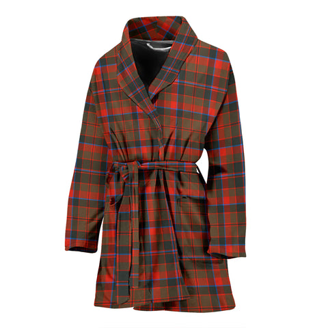 Cumming Hunting Weathered Tartan Women's Bath Robe