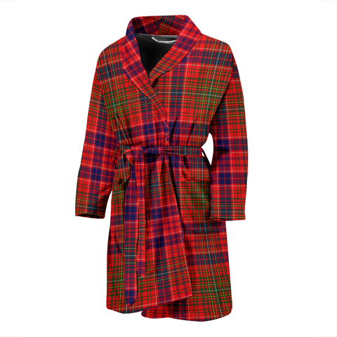 Lumsden Modern Tartan Men's Bath Robe
