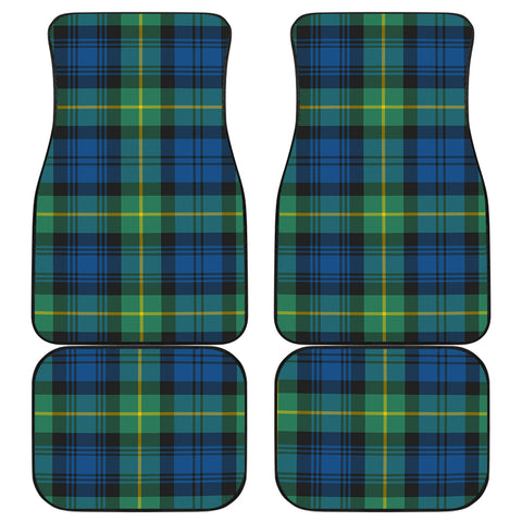 Gordon Ancient Tartan Car Floor Mat 4 Pieces K7