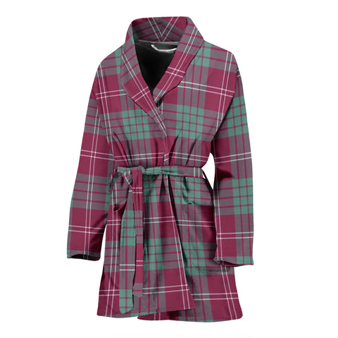 Crawford Ancient Tartan Women's Bath Robe