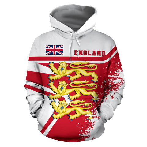 Image of England royal Hoodie Painting Style | 1sttheworld.com