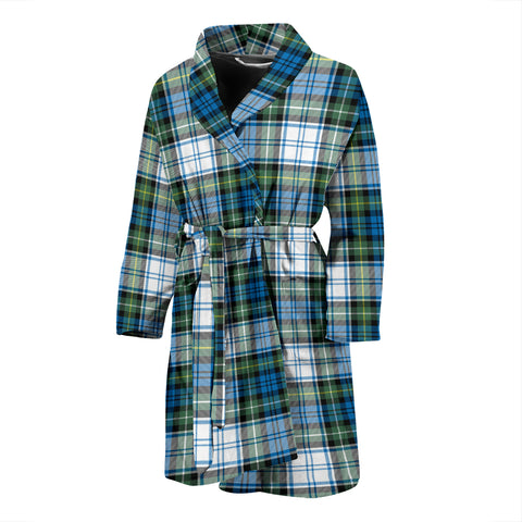 Campbell Dress Ancient Tartan Men's Bath Robe