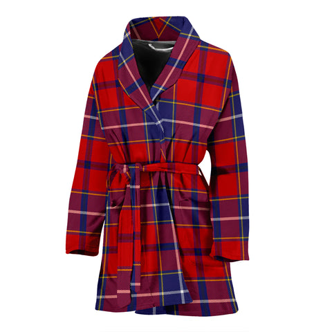 Image of Wishart Dress Tartan Women's Bath Robe