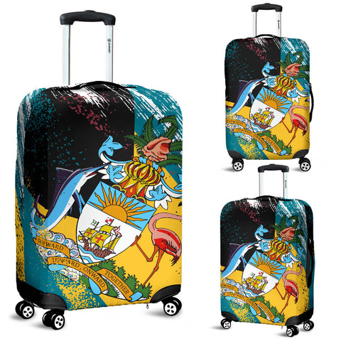 Image of The Bahamas In My Heart Luggage Cover K2