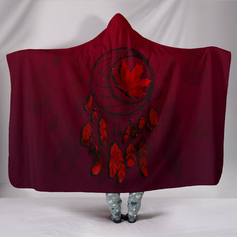 Canada Maple Leaf Dreamcatcher Hooded Blanket A02 | Love The World