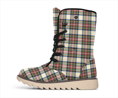 Stewart Dress Ancient Tartan Polar Boots