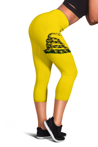 Image of Gadsden Flag Women's Capris
