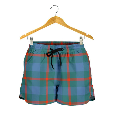 Image of Agnew Ancient Tartan Shorts For Women