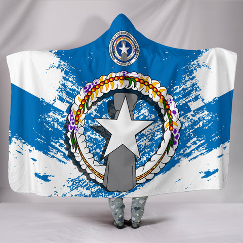 Northern Mariana Islands Special Hooded Blanket A7