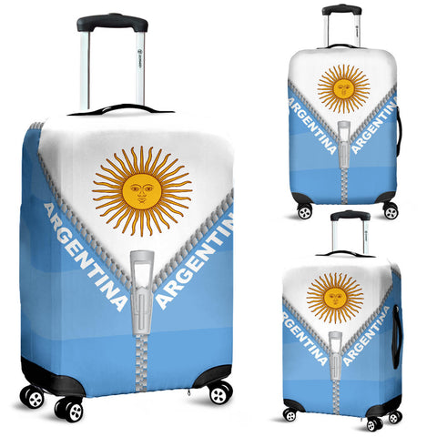 Argentina Luggage Cover With Straight Zipper Style K52 | Love The World