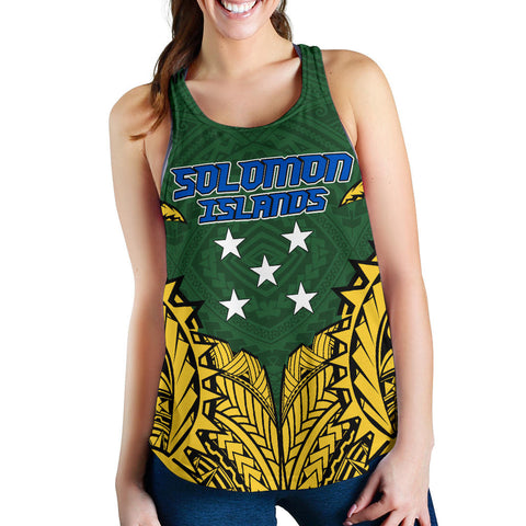 Image of Solomon Islands Premium Racerback Tank A7