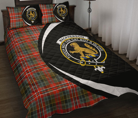 MacPherson Weathered Tartan Quilt Bed Set Circle