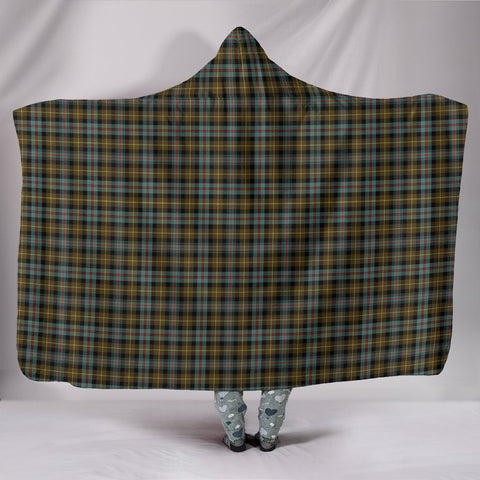 Farquharson Weathered, hooded blanket, tartan hooded blanket, Scots Tartan, Merry Christmas, cyber Monday, xmas, snow hooded blanket, Scotland tartan, woven blanket