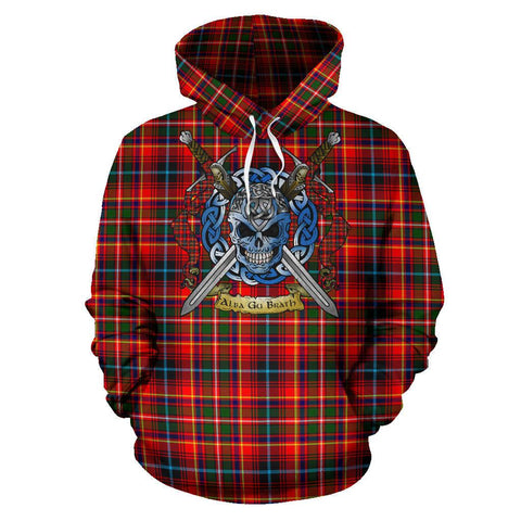 Image of Innes Modern Tartan Hoodie Celtic Scottish Warrior A79 | Over 500 Tartans | Clothing | Apaprel
