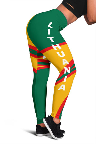 Lithuania Leggings N Flag A15