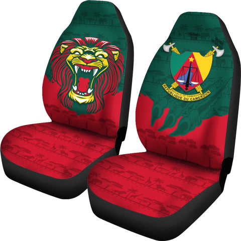 Cameroon Car Seat Covers Lion K4