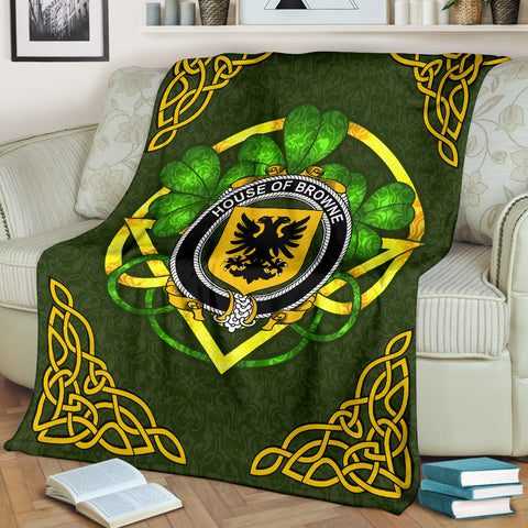 Browne Ireland Premium Blanket | Home Set | Special Custom Design