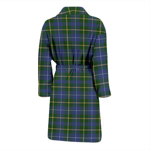 Nova Scotia Plaid Men's Bathrobe