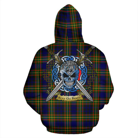 Clelland Modern Tartan Hoodie Celtic Scottish Warrior A79 | Over 500 Tartans | Clothing | Apaprel