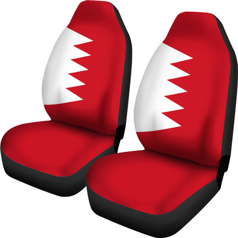 Bahrain Car Seat Covers Original Flag A7