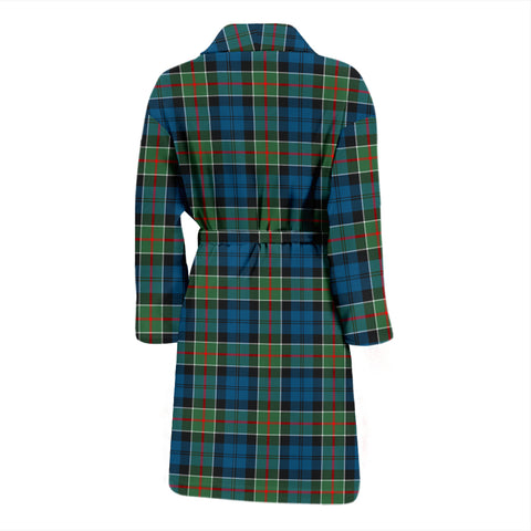 Image of Colquhoun Ancient Bathrobe - Men Tartan Plaid Bathrobe Universal Fit