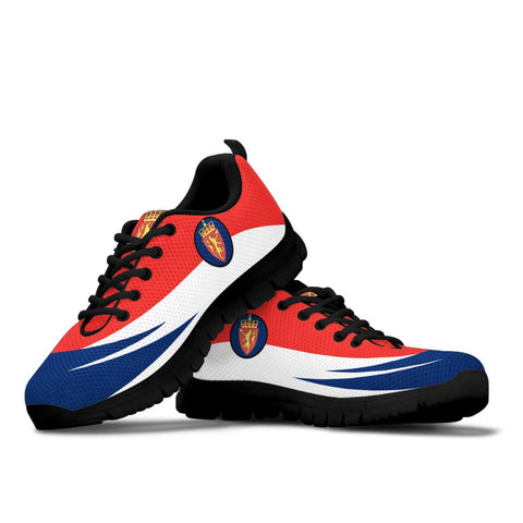 Norway Sneakers - Flag Wave Style - BN39