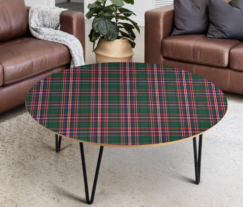 MacFarlane Hunting Modern Tartan Circular Coffee Table - BN
