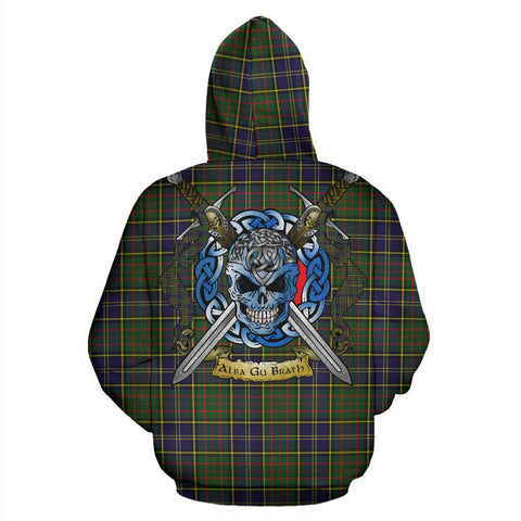 MacMillan Hunting Modern Tartan Hoodie Celtic Scottish Warrior A79 | Over 500 Tartans | Clothing | Apaprel