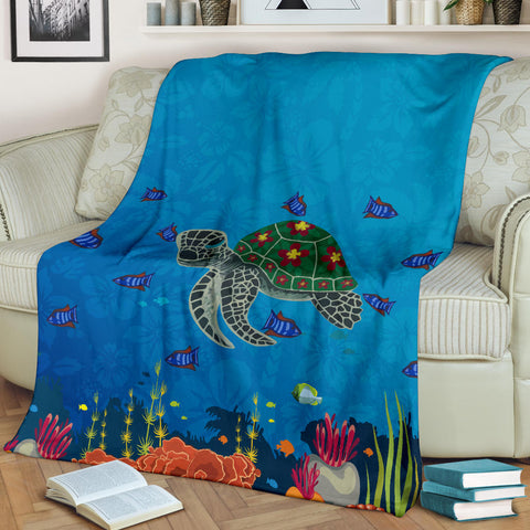 Hawaii OceanPremium Blanket