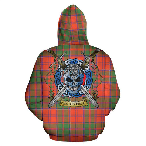 Image of Grant Ancient Tartan Hoodie Celtic Scottish Warrior A79 | Over 500 Tartans | Clothing | Apaprel