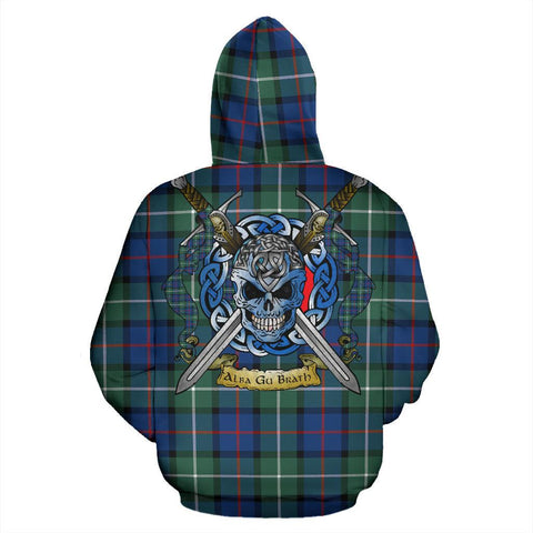 Davidson of Tulloch  Tartan Hoodie Celtic Scottish Warrior A79 | Over 500 Tartans | Clothing | Apaprel