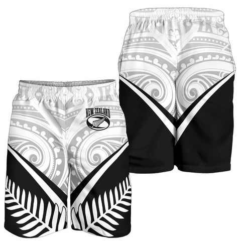 Image of New Zealand Rugby Men's Shorts - New Zealand Fern & Maori Patterns