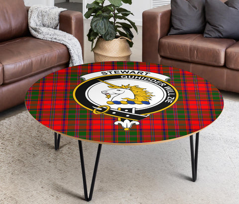 Stewart (of Appin) Clans Cofee Table BN