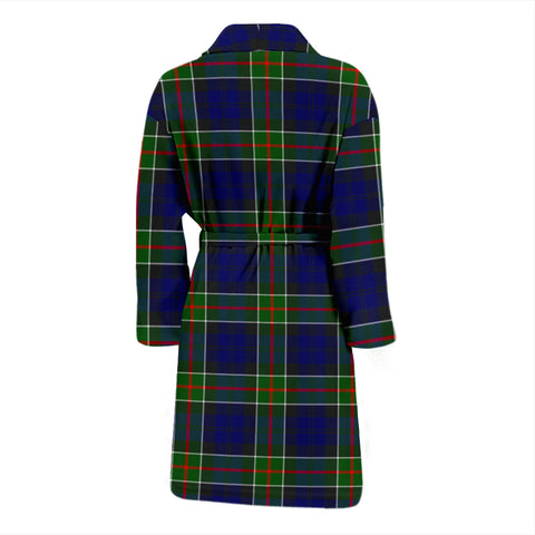 Colquhoun Modern Bathrobe - Men Tartan Plaid Bathrobe Universal Fit