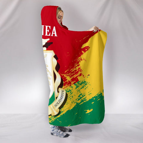 Guinea Special Hooded Blanket A7