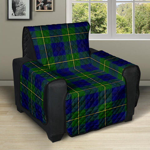 Johnston Modern Tartan Recliner Sofa Protector | Tartan Home Set