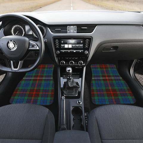 Fraser Hunting Ancient Tartan Car Floor Mat 4 Pieces K7