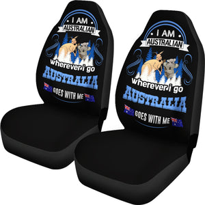 Wherever I Go Australia Goes With Me Car Seat Covers H4