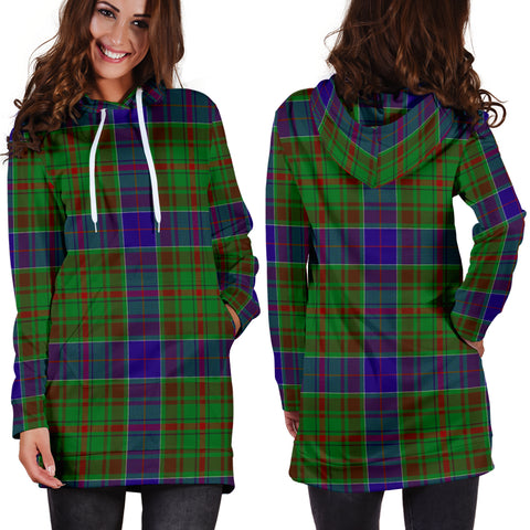 Adam Tartan Hoodie Dress HJ4 |Women's Clothing| 1sttheworld