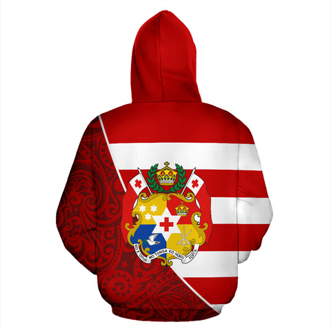 Tonga Hoodie Poly Coat Of Arms TH5
