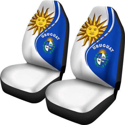 Image of Uruguay Sky Car Seat Covers Version 2 K7